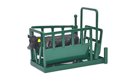 (Little Buster Toys Cattle Squeeze Chute in Green, 1/16th Scale)