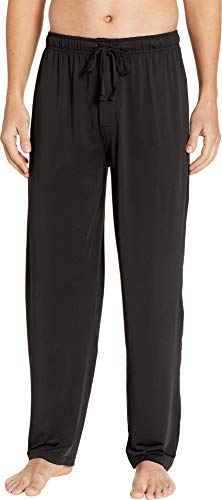 Jockey Men's Cool-Sleep Sueded Jersey Pants Black Large ()