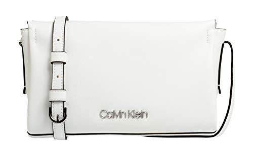 Bright Ew Crossbody Blanco Bandolera Calvin White Bolsos Avant Klein 01X04Zwq