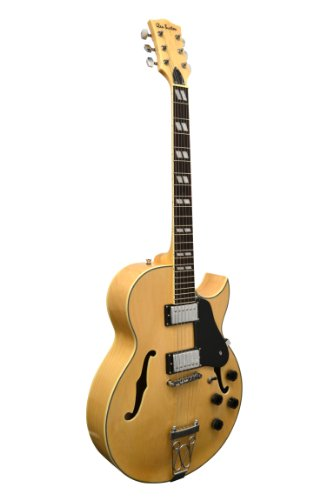"Glen Burton GE775-CHIC-NT""Chicago"" Hollowbody Electric Guitar, Natural"
