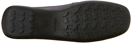 loafers Geox Noir Euxo Mocassins c999 Donna Femme r007tf