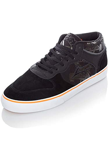 Lakai Thrasher Black Orange Suede Carroll Mid Collaboration Shoe