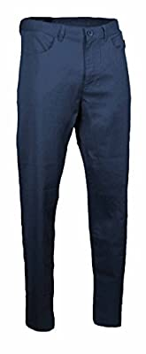 Calvin Klein Mens Textured Twill Cotton Casual Straight Fit Dress Pants