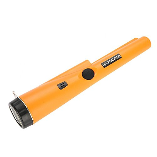 fosa PinPointer Metal Detector, High Sensitivity Handheld Pin Pointer 360°Waterproof Treasure Hunting Tool with Buzzer Vibration for Metal Detection by fosa