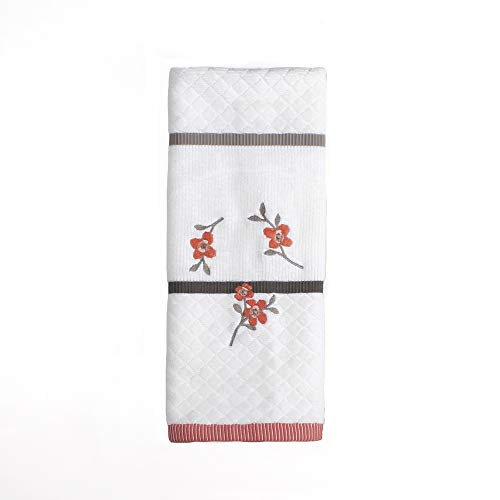 SKL Home by Saturday Knight Ltd. Coral Garden Embroidered Hand Towel, ()