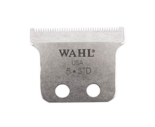 Wahl Professional Adjustable T Shaped Trimmer Blade #1062-600 - Designed for Specific Wahl, 5 Star, and Sterling Trimmers - Includes Oil, Screws, and Instructions (Blade Shape)