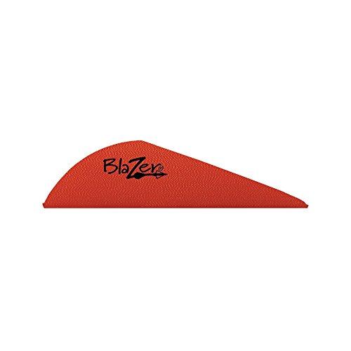 Vanes 2 Blazer Bohning (Bohning Blazer Archery Vane (100-Pack), Red)