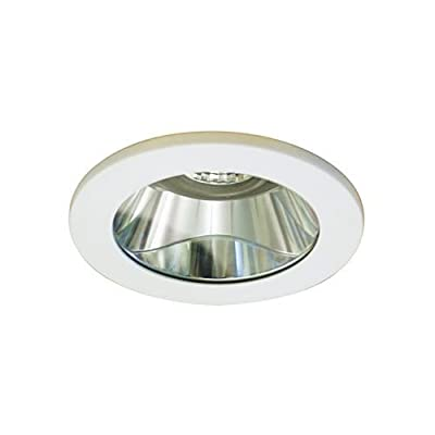 WAC Lighting HR-D418-S-WT 4-Inch Shower Light Flat Glass