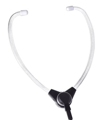 Dictaphone **Extended-Life**Premium ''EBS'' Headset Compatible Universal Wishbone Y-Shaped Style For Transcriber Models 1709, 1720, 1730, 1740, 2710, 2720, 2730, 2740, 2750, 3740, 3750, 3710 and earlier models
