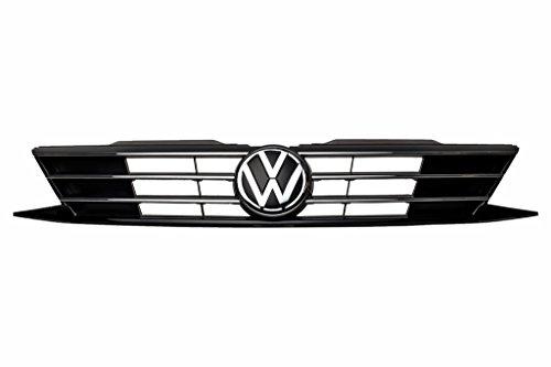 2016-2016 VW Volkswagen Jetta Black & Chrome Radiator Grille OEM