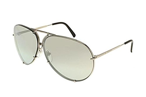 PORSCHE DESIGN P8478 B Sunglasses P'8478 Titanium Silver ()