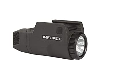 Inforce APLc Compact WML Weapon Mounted White Light Auto Pistol 200 Lumens (Not Glock)