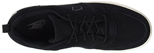 Nike Herren Court Borough Low Premium Gymnastikschuhe Schwarz (Black/black-sail)
