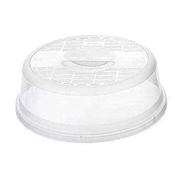 Tapa para microondas Rotho Basic transparente