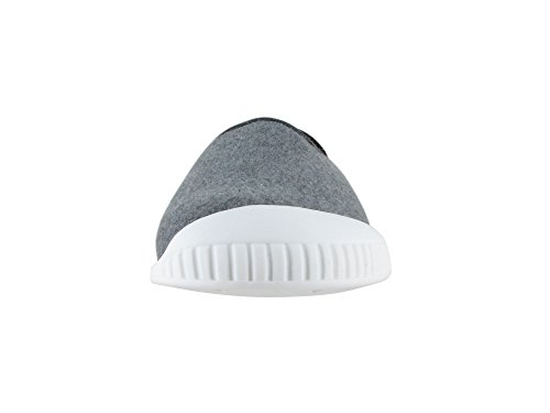 Pantofola Classica Kush Unisex Dualyz Con Suola Rimovibile Grigio Chiaro / Bianco