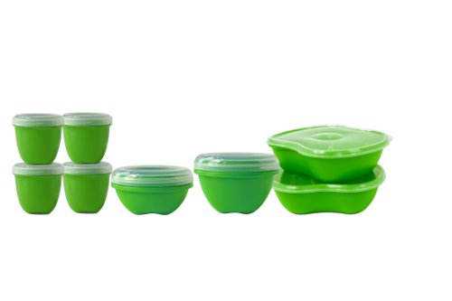 (Preserve 8-Piece Food Storage Set, Made from Recycled Plastic)