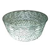 Maryland Plastics 0511 Crystal Cut Salad Plastic Bowls, 6 Quart (06-0338) Category: Buffet and Serving Bowls and Shells