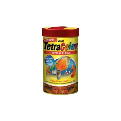 Tetra Tetracolor Tropical Flakes With Feeding Lid 2.2oz ()