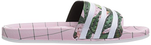 Sandales 280647 White Pink wonder Adulte Originals Mixte Adilette Adidas qPfBtf