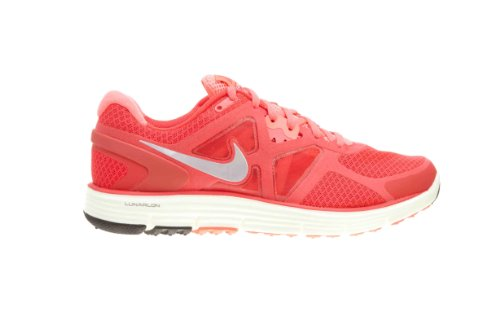 Zapatillas De Running Nike Lady Lunarglide + 3 Srn Rd / Mtlc Pltnm-ht Pnch-cshm