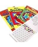 Cahier de Coloriage Mini Doodle - Lot de 12 Cahiers
