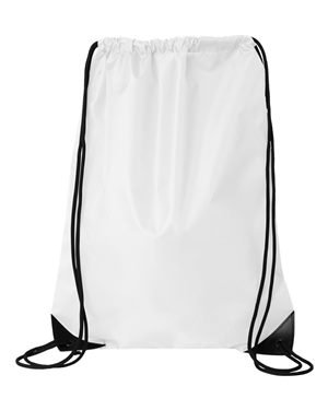 Liberty Bags Value Drawstring Backpack. 8886 - One Size - White