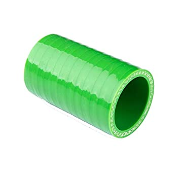 Fishing_life For 3-ply Straight Intercooler Turbo Tube Joiner Pipe Silicone Coupler Hose (ID25
