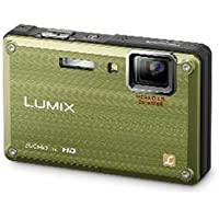 Panasonic Lumix DMC-TS1 12MP Digital Camera with 4.6x Wide Angle MEGA Optical Image Stabilized Zoom and 2.7 inch LCD (Green) Overview Review Image