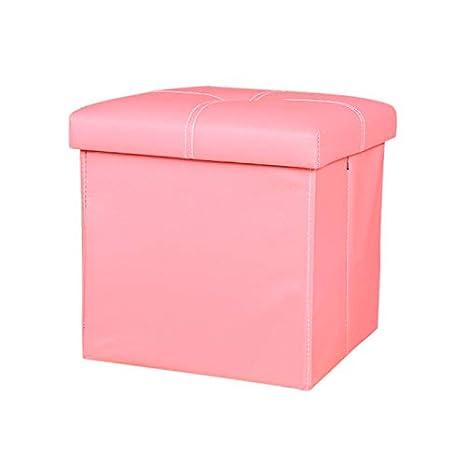 Prime Amazon Com Youthup Pu Leather Folding Storage Ottoman Box Machost Co Dining Chair Design Ideas Machostcouk