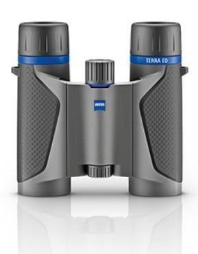 Carl Zeiss Zeiss 8x25 Terra ED Compact Pocket Grey-Black Binocular