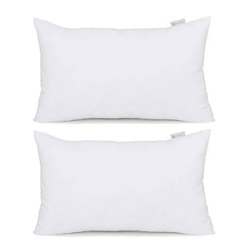 Acanva Soft Down Alternative Pillow Insert, 12 x 20