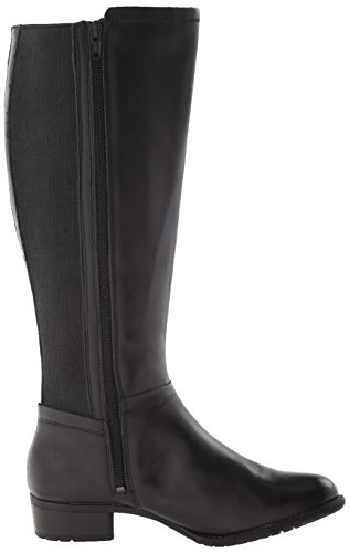 Chamber Black Waterproof Leather Riding Lindy Puppies Women's Hush Black Boot w1tSqvRxB