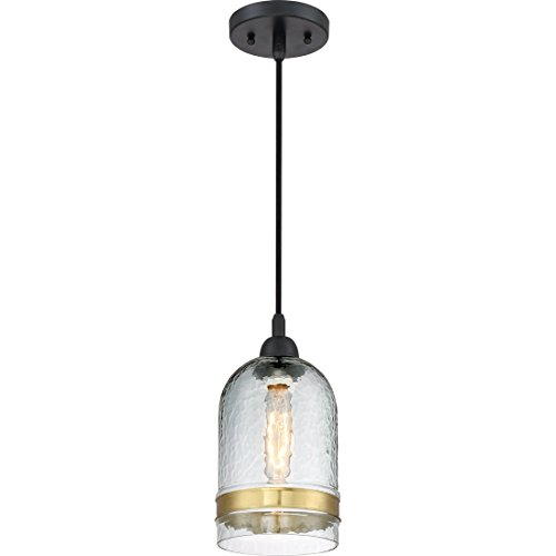Quoizel One Light Mini Pendant QPP2789K, Small, Mystic Black - Quoizel Piccolo Pendant