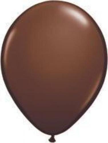 Chocolate Marronee 11  Qualatex Latex Balloons x 25 by Qualatex