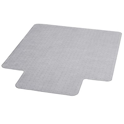 36'' X 48'' Carpet Chairmat With Lip