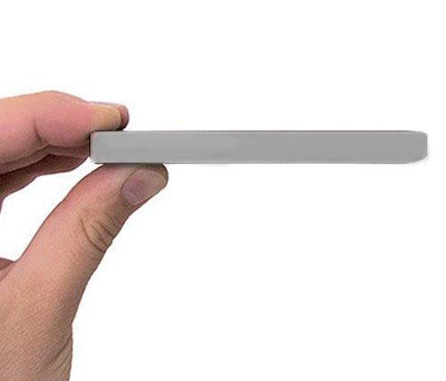 10 opinioni per Disco rigido portatile esterno argento Pocket Size Slim include One Touch Backup