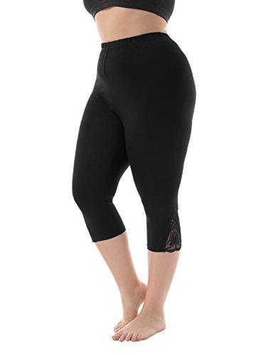 ZERDOCEAN Womens Modal Capri Leggings