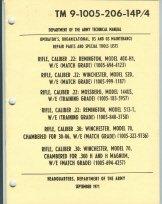 Winchester 30 06 (Rifle, Cal. .22, Remington, 40X-H1, Rifle Cal. .22, Winchester, 52D, Rifle, Cal. .22, Mossberg 144US. Rifle, Cal. .22, Remington 513-T Rifle, Cal. .30 Winchester 70, 30-06, Rifle, Cal. .30, Winchester)