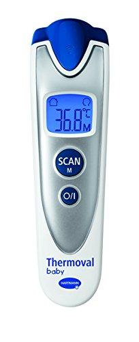 Hartmann - Thermoval Baby thermometro technologia Infra rojo - Medida SIN CONTACTO + Un HOCHET tout DOUX ...: Amazon.es: Salud y cuidado personal