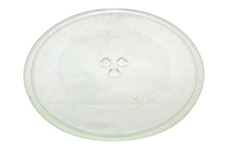 320 mm Universal para plato giratorio del microondas plato de cristal con 3 Accesorios