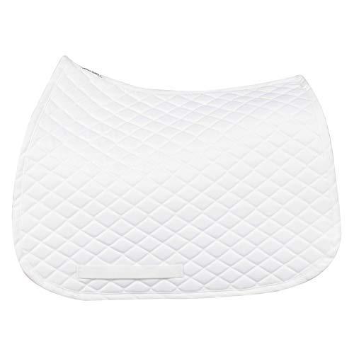 TuffRider Basic All Purpose Saddle Pad White (White Saddle Pad)