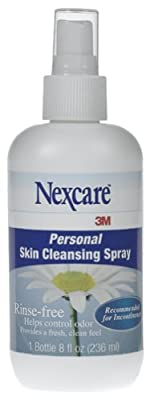 3M Nexcare Personal Skin Cleansing Spray - 8 oz