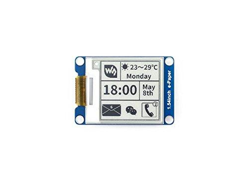 Resolución 200x200 Módulo de pantalla de tinta electrónica de 1.54 pulgadas Papel electrónico electrónico Sreen con cont