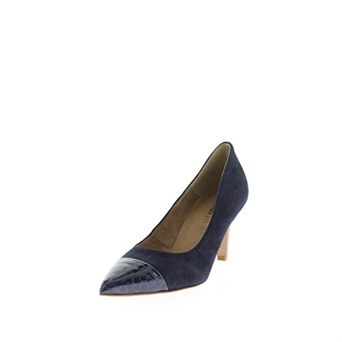 Tamaris 1-22412-28 zapatos de tacón mujer NAVY/CROCO