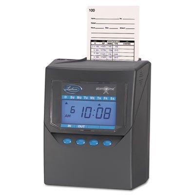 Lathem Time Company Calculating Time Recorder, 6X5X8, Black by Lathem