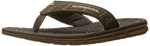 Brown Quiksilver Mens Mens Quiksilver Shoe Brown Walking Brown Fluid 6q0UZwq