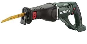 Metabo ASE 18 LTX 18 V / sin baterias (carcasa) - sierra de sable a batería 18v