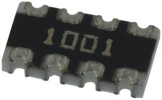 10 pieces 1/% SMD BOURNS CAT16-1001F4LF RESISTOR ISO ARRAY 4RES 1KOHM