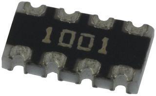 SMD 1 piece 1/% ISO ARRAY 4RES 1KOHM BOURNS CAT16-1001F4LF RESISTOR