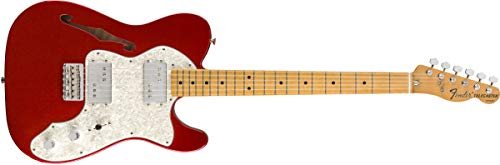 Fender Vintera '70s Telecaster Thinline - Maple Fingerboard - Candy Apple Red